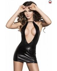 Платье под латекс FEMI DRESS black Passion Exclusive